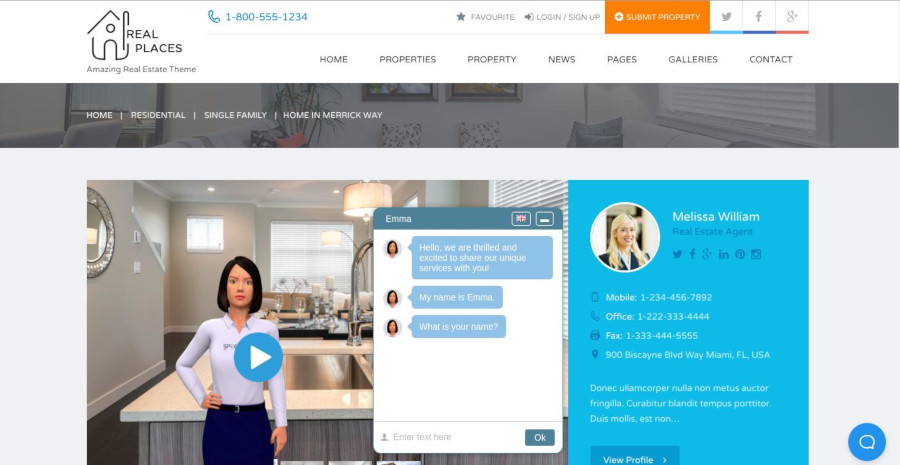Real Estate Chat